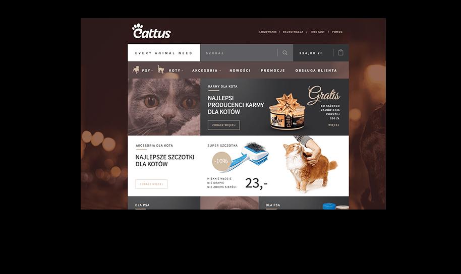 Sklep internetowy w IdoSell Shop: cattus.pl
