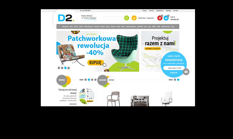 Sklep internetowy w IdoSell Shop: dkwadrat.pl