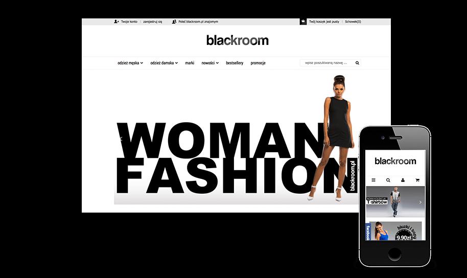 Sklep internetowy w IdoSell Shop: blackroom.pl