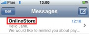 SMS notification - Thanks to branding service, Your shop's name will show up instead of a sender's number