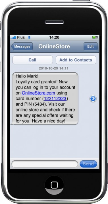 SMS notification - Thanks to automatic SMS sending module, You can easily contact the customers