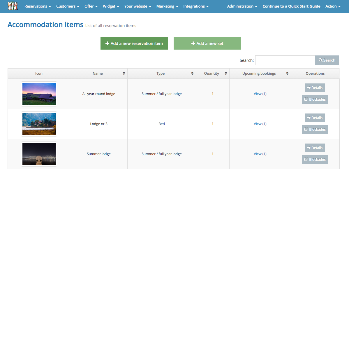 IdoSell Booking - Add your Accommodation Items