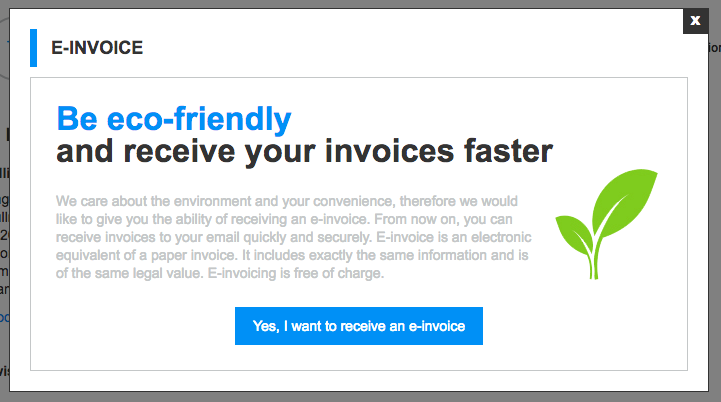Delivery Of Email Invoices For Purchases In Online Stores - Electronic invoice system