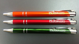 Pens with IAI-Shop.com logo
