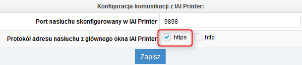 IAI Shop.com Ido Sell, IAI Printer, wydruki FV na drukarce fiskalnej