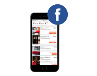 Booking Engine on Facebook