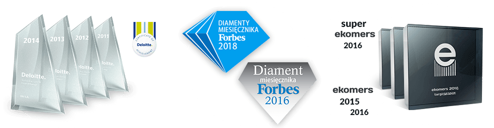 Super ekomers 2016, Awards Deloitte for IAI S.A.