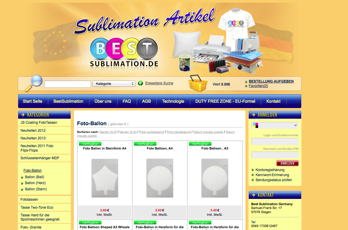 BestSublimation.de