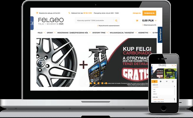 Sklep internetowy w IdoSell: felgeo.pl
