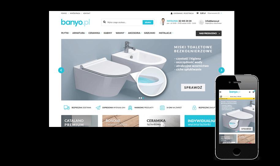 Sklep internetowy w IdoSell Shop: banyo.pl