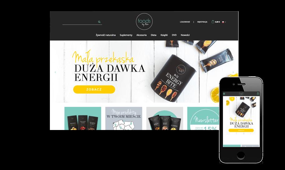 Sklep internetowy w IdoSell Shop: foodsbyann.pl