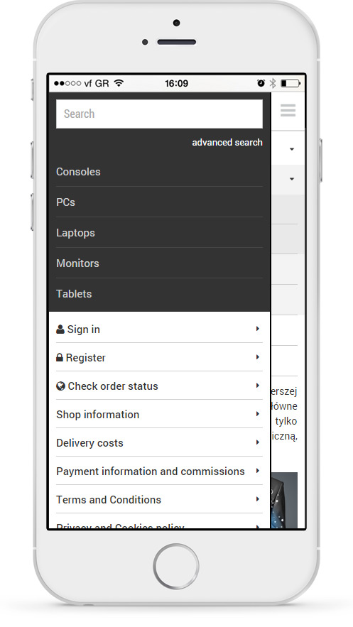Mobile version is a reflection of a desktop version - customers get used to the fixed elements of your shop what makes navigation on both versions easier